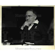 1984 Press Photo Coach Chuck Knox Football - ora50933
