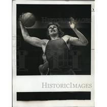 1976 Press Photo Daryll Ross Has No illusions of Grandeur - ora75153