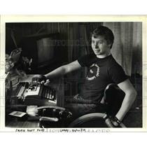 1984 Press Photo Larry Topliff former Sandy High School and Wrestler - ora88303