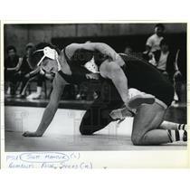 1981 Press Photo Scott Mansur & Rich Sykes - ora55042