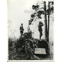 1932 Press Photo British Armu manuevers at Hampshire England