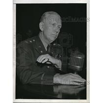 1945 Press Photo General George C Marshall Chief of Staff US Army in DC
