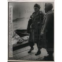1950 Press Photo General Matthew Ridgway of 8th Army at Seoul Korea