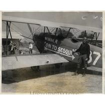 1926 Press Photo Fred Day Hoyt, winner of Aero Club of Pennsylvania trophy