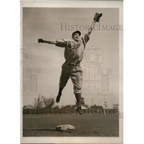 1939 Press Photo Brooklyn Dodgers rookie infielder Berthold J. Haas