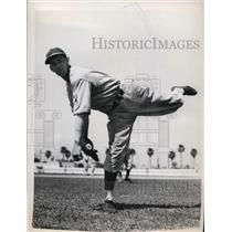 1939 Press Photo Cincinnati Reds pitcher Leo Grissom