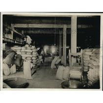 1920 Press Photo Seed distribution from Dept of Agriculture