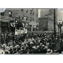 1926 Press Photo Farm delegation's parade to Republican convention in Kansas