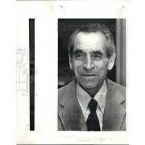 1983 Press Photo Aminullah Farzaneh Refugee escaped from Iran - cva11718