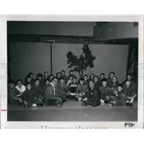 1940 Press Photo Boy Scout Troop 115 on pow wow to receive an award - cva20251