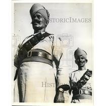 1938 Press Photo Egypt's Police of the Sudan dessert - cva10594