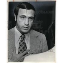 1975 Press Photo Thomas Ferguson State Auditor Lottery Commission - cva12476