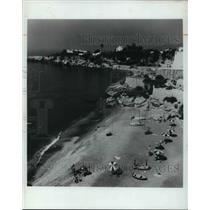Press Photo Beach Scene in Spain - cva21006