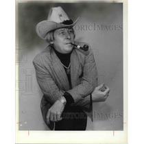 1978 Press Photo Billy Hudson in his cowboy attire - cva24845