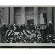 1920 Press Photo James Campbell and Warren G. Harding Hayes Memorial Library