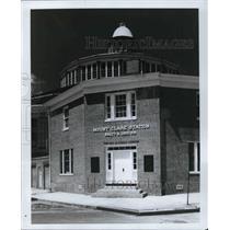 1985 Press Photo Mount Claire Station, Baltimore, Maryland - cva22698