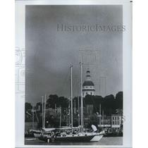 Press Photo Maryland State House in Annapolis - cva22699