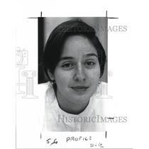 1989 Press Photo The Hispanic Teen Jeanette Hanna - cva16745