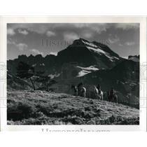 1980 Press Photo Glacier National Park in Montana Rockies - cva20173