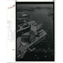 1991 Press Photo Baltimore's Inner harbor, The National Aquarium - cva22571