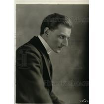 1919 Press Photo Capt Horst von der Goltz featured in The Prussian Cur Film