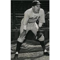1938 Press Photo Eddie Joost, Kansas City Ball Club - mjs01360