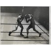 1931 Press Photo Cesar Desio versus Carl D'Angelo at Madison Square Garden