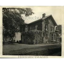 1925 Press Photo Dawes family home at Marietta, Ohio - ney06036