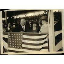1923 Press Photo President And Mrs. Harding Attended Horse Show  - nee90666