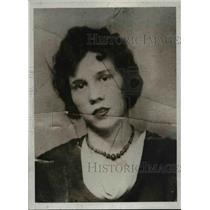 1933 Press Photo Mrs. Louise McKenna Wife Of Leonard McKenna  - nee91278