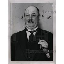 1929 Press Photo Mr JG Hamilton of England  - nee88624