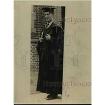 1923 Press Photo Dr Alexander Meiklejohn President of Amherst College
