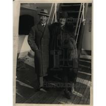 1928 Press Photo Baron And Barones Eric Von Platen Will Marry The Heiress