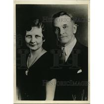1932 Press Photo Andrew Maclachlan And Evelyn Ashley Announce Their Engagement