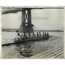 1930 Press Photo Cornell U crew W Mann, L Hartman, J Shallcross, E Martin