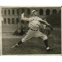 1929 Press Photo Howard Whitmore, star pitcher of the Harvard baseball team