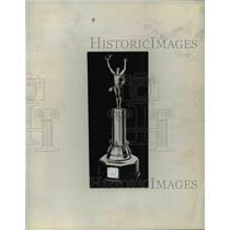 1933 Press Photo Douglas Campbell Cup for Cleveland Colleges - cvb63836