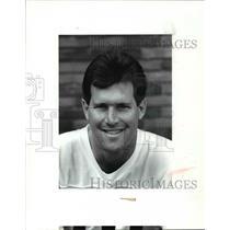 1987 Press Photo Mike Pagel - cvb57943