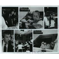 1985 Press Photo ABC News coverage of the TWA Beirut hijacking - mja04233