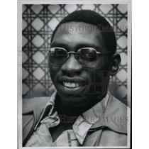 1975 Press Photo Tony Peters - Brown's Cornerback - cvb64353