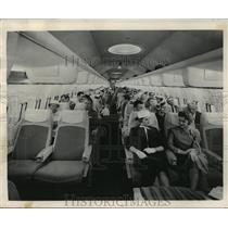 1957 Press Photo America's fastest air liner, the Boeing 707 jet Stratoliner