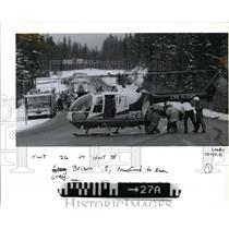 1991 Press Photo Life flight-Grey Brison - orb73444