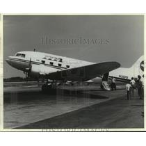 1994 Press Photo Nova: The Plane That Changed the World- DC-3 in profile