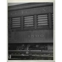 1939 Press Photo U.S. Deportation Train  - nee95272