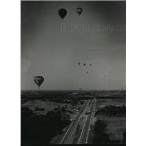 1988 Press Photo 13th Annual Great Wisconsin Dells Balloon Rally - mja02409