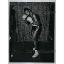 1970 Press Photo Lee Kellon, Fighting - cvb59019
