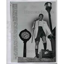 1969 Press Photo World light heavyweight boxing champ Archie Moore - cvb58928