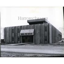 1979 Press Photo New crash-fire-rescue station at Spokane International Airport