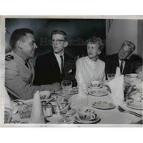 1963 Press Photo Otto Graham Scholarship, Jeff DuRocher, Mr.&Mrs. Rod DuRocher.