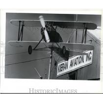 1994 Press Photo Weather vane atop the hangar of Felts Field - spa21866